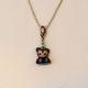 Customized Kidrobot Zipperpull necklace