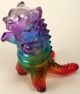 Custom painted Kaiju Negora rainbow 3