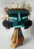 Tiki masked warrior