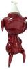 Calliope Jackalope - Red Glitter (Unpainted)