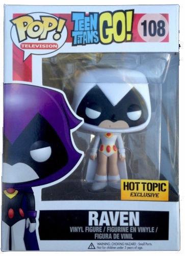 Raven White Dorbz FunKo Teen Titans Go!