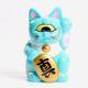 Mini Fortune Cat - Turquoise