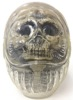 Daruma Skull - CLEAR w/ SMOKE GRAY FOSSIL