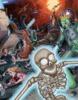 Mars Attacks + Dinosaurs attack print