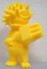 Mini Thorn Ball-Man - unpainted yellow