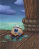 Popeye's Missing Eye
