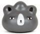 Custom Pocket Pork Dumpling : Bear Buns Grey with Grey Nose