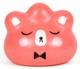 Custom Pocket Pork Dumpling : Bear Buns Pink with Bowtie