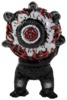 NYCC KEEP WATCH BOOTLEG KAIJU VINYL TOY (BLACK)