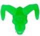NYCC GHOST CAVE: SATAN CYCO SIMON SKULL (GREEN)