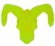 NYCC GHOST CAVE: SATAN CYCO SIMON SKULL (YELLOW)