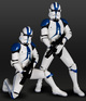 Clone Trooper 501st troops 2 Pack Limited Edition