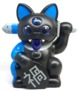 Misfortune Cat 'Black and Blue' Retailer Edition