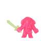 Glitter Pink GID