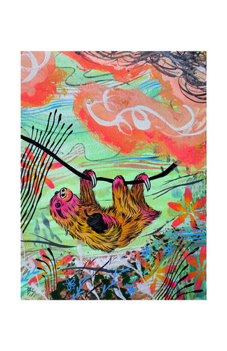 Sunset_sloth_print-bwana_spoons-screenprint-trampt-190076m