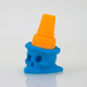 3D-Printed Ice Scream Man Bite Size - blue