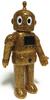 Ace Robo - Gold Glitter