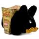 Relatively Hip Labbit Plush 14 inch : Black