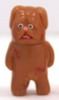 Mini Painted Vinyl Figure (Tosa Kenta - Stand) - brown
