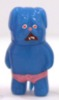 Mini Painted Vinyl Figure (Tosa Kenta - Stand) - blue