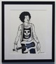Will I Live Tomorrow? (Afro-Punk Hendrix) (Original Art for 2009 Afro-Punk Festival in NYC)
