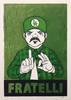 """Fratelli Green"" Print"