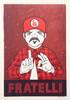 """Fratelli Red"" Print"