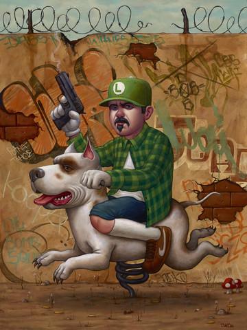 Luigi_trece-bob_dob_craola_greg_simkins-oil-trampt-192951m