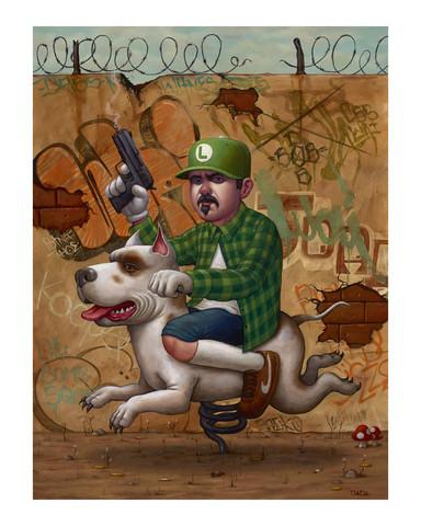 Luigi_trece_print-bob_dob_craola_greg_simkins-oil-trampt-192952m