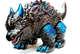Giant Black Mamaregon with Kaiju Paint