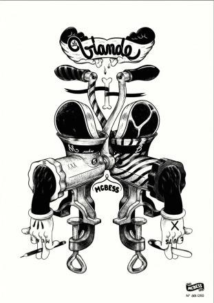 Viande-mcbess_matthieu_bessudo-gicle_digital_print-trampt-198393m