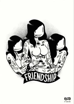 Friendship_a3-mcbess_matthieu_bessudo-gicle_digital_print-trampt-198405m