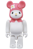 BE@RBRICK My Melody 100%