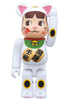 BE@RBRICK beckoning cat Peko-chan
