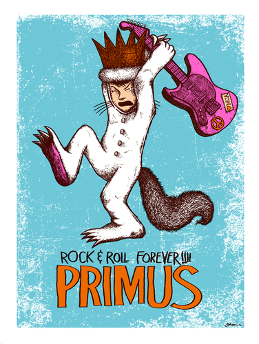 Primus_rock-n-roll_forever_mini-print_regular_edition-jermaine_rogers-screenprint-trampt-199377m