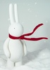 PETIT LAPIN 'blowing in the wind' Edition - FLOCKED White