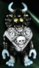Mohawk guy Motemote skeleton guy mutant de Crocs ( black molding )