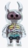 Anatomy Skull Uamou - Clear  Purple Brain