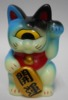 Fortune Cat Baby ( phosphorescent molding / light blue )