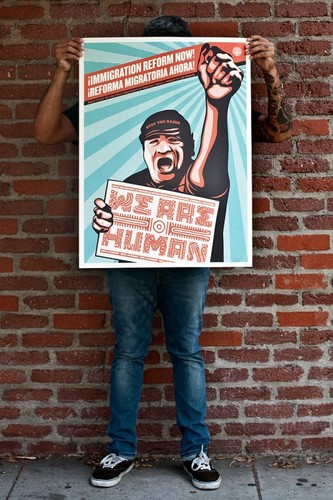 We_are_humans_protest_offset-shepard_fairey-lithograph-trampt-204842m