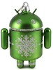 Green ornamental Android