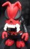 SKULLBEE / ( red molding / black bodice )