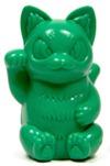 Invited_negora_puppet_-_2014_puppet_expo_limited_color_dark_green-konatsu_koizumi-lucky_negora-konat-trampt-206962m