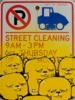 STREET CLEANING IS OVER