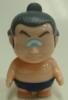 garbled Bruno Fuji - thin skin color ash hair navy blue loincloth -