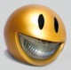 Smiley Grin Piggy Bank - Gold-Platinum Grill