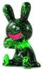 BLACK RABBiT Sitting Green scratch
