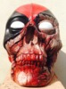 Zombie Deadpool - Custom Skull Moneybox