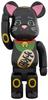 Be@rbrick - Beckoning Cat (Black) 400%