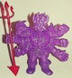 Shaitan the Evil Cross - purple